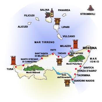 Obiective Turistice Messina Orasul Messina Hartaeuropa